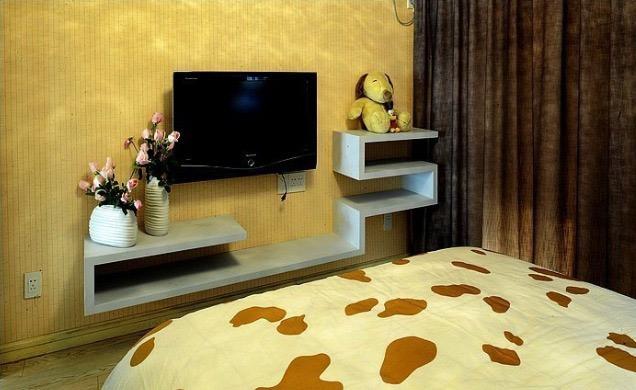 卧室电视背景墙设计效果图