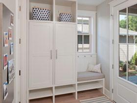 省空间设计 15款鞋柜装修效果图