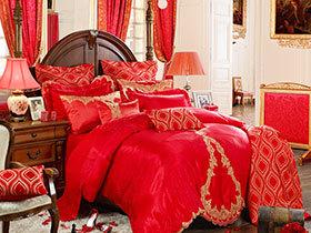 12张婚床图片 喜庆浪漫感十足
