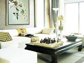 中式客厅窗帘盒 20图秀大气典雅