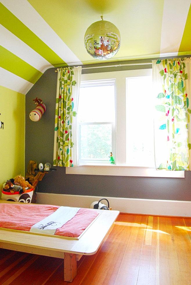 儿童房卧室吊顶设计图