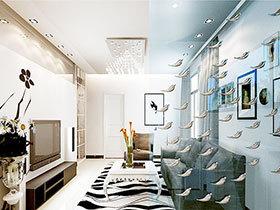 13张客厅玻璃隔断效果图 简洁透亮