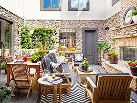 11张私家庭院设计效果图 时尚大气