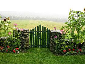 13张庭院围栏图片 简单唯美