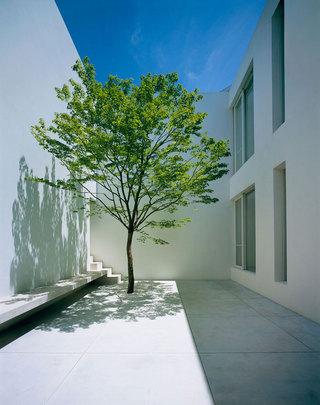 简约庭院设计图