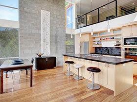 14张现代简约风格厨房灯具装修效果图