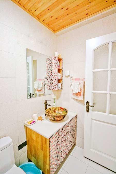 地中海风格浴室柜效果图
