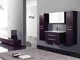15张卫生间浴室柜效果图 兼具实用与美观