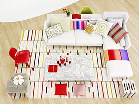 大气家居装饰 13张方形地毯效果图