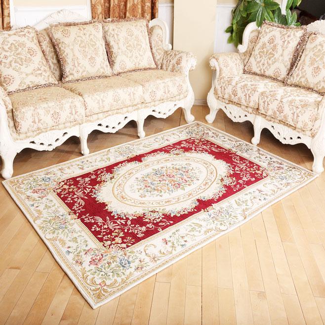 田园风格地毯设计图