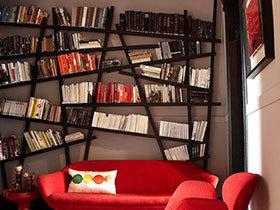 点燃激情 13款红色系书房
