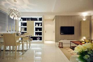 简约风格二居室70平米装修效果图