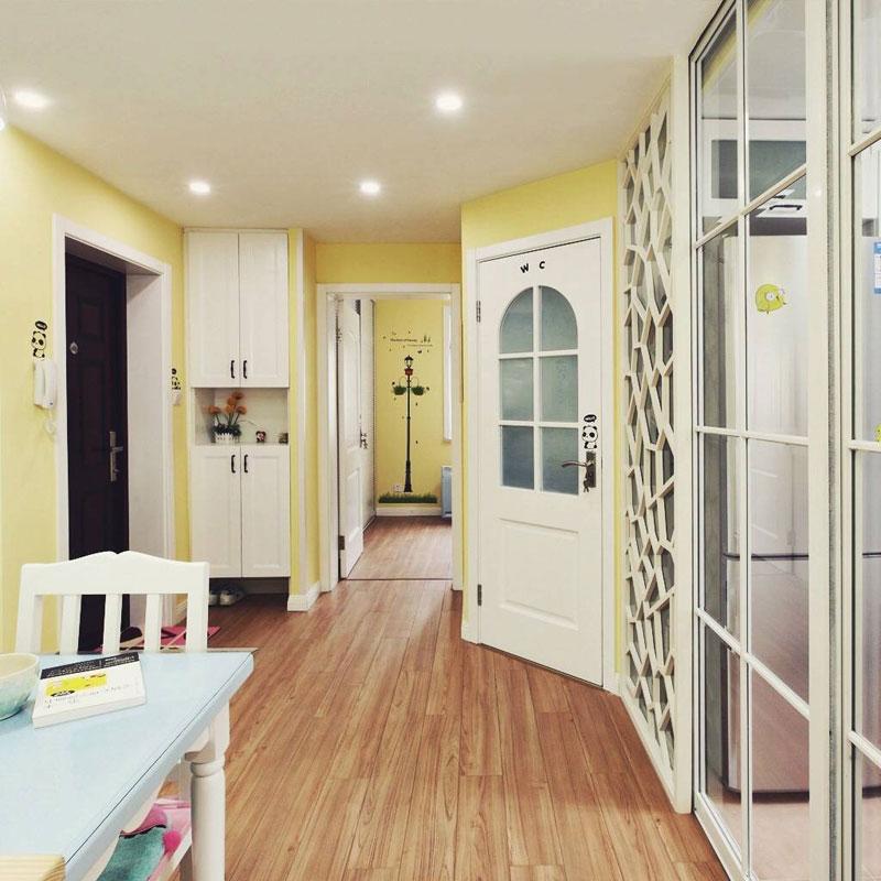 田园风格二居室60平米设计图