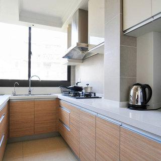 日式简洁厨房设计效果图