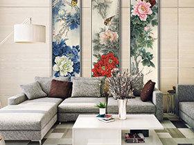 庄重与优雅并重 14款中式客厅装饰画