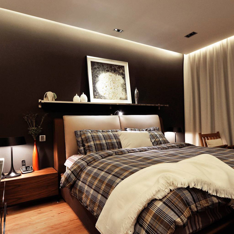 混搭卧室设计效果图