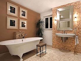 卫浴间里的旧时光 12款卫浴间照片墙