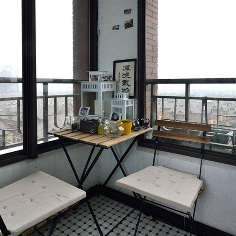 美式清新阳台设计效果图