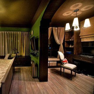 美式风格三居室装修
