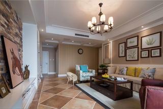 美式客廳設計效果圖