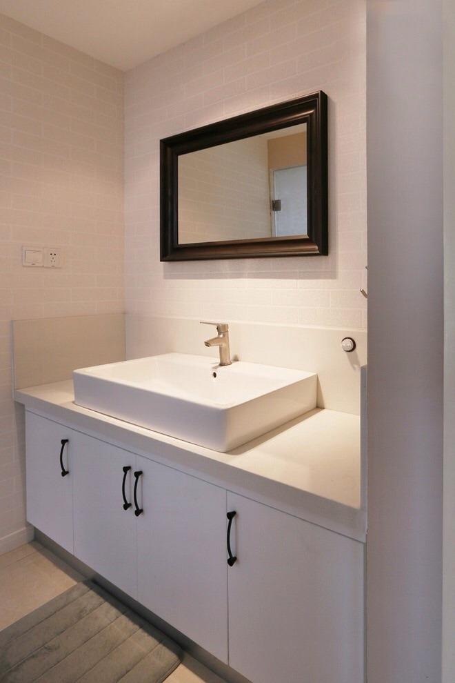 简约洗手台设计图片