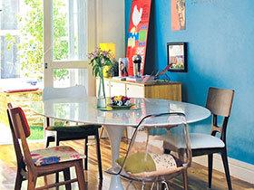 尽享自然诱惑 13个蓝色餐厅背景墙推荐