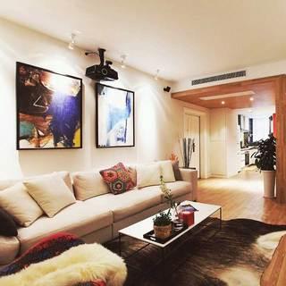 混搭清新客厅沙发设计图片