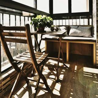 现代简约阳台设计图片