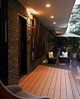现代简约阳台设计效果图