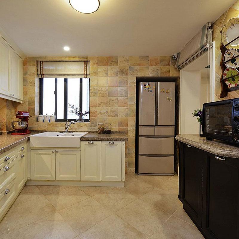 混搭清新厨房设计效果图