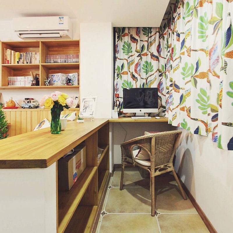 混搭风格一居室40平米旧房改造家居图片
