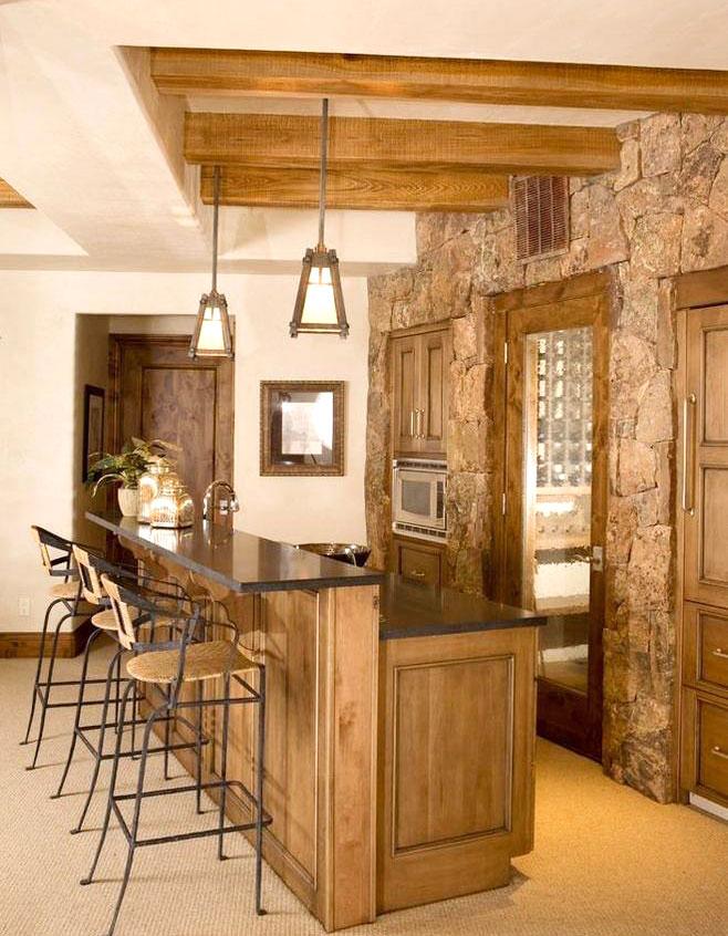 实用兼具时尚的厨房吧台设计
