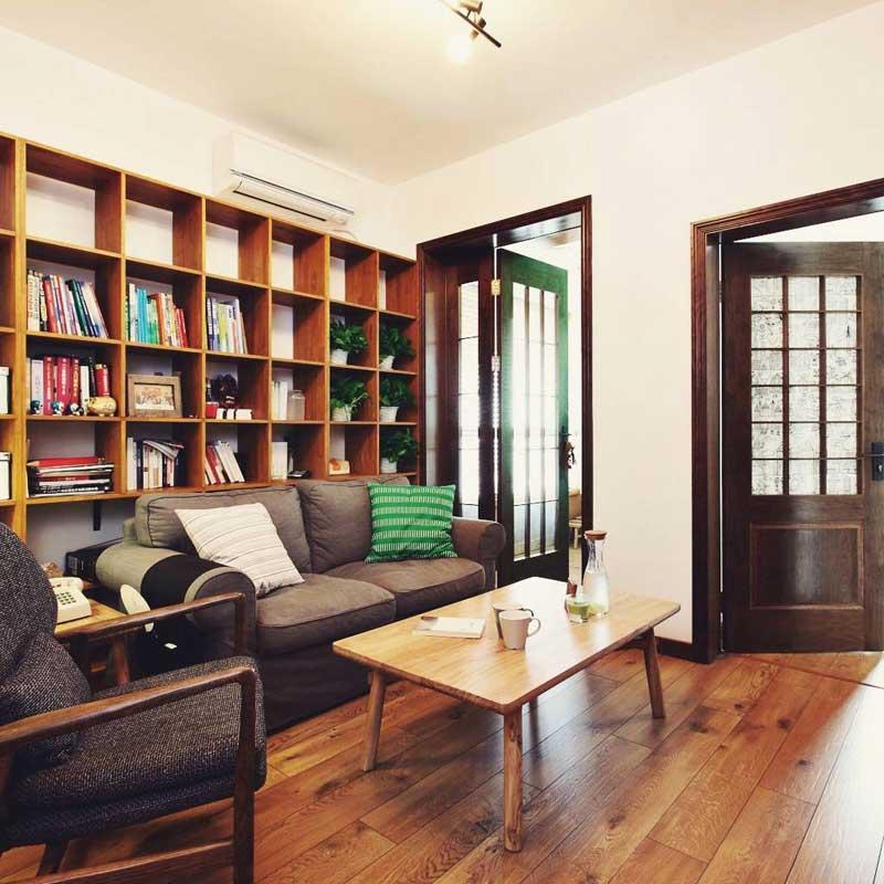 混搭客厅设计效果图