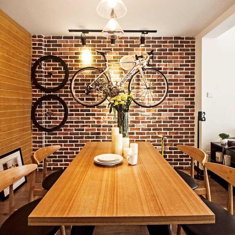 北欧清新餐桌设计图片