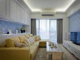 小空间高规格 70平美式二居