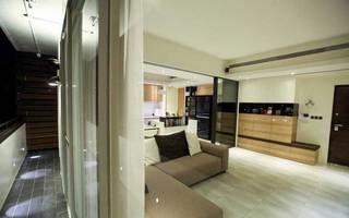 现代简约风格二居室70平米设计图纸