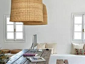 古朴温馨 11个自然藤编灯具设计