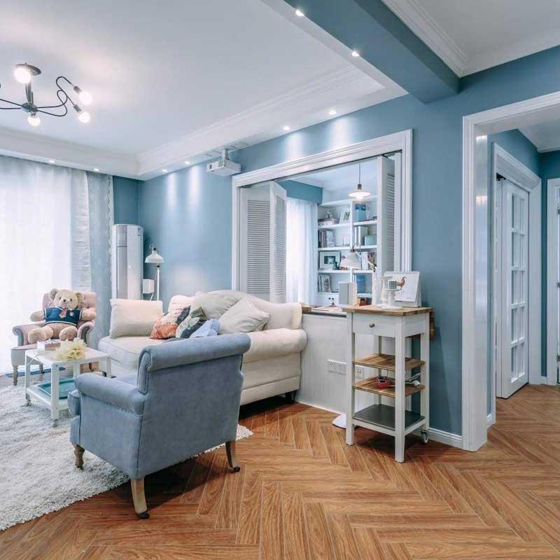 北欧风格二居室80平米装修效果图