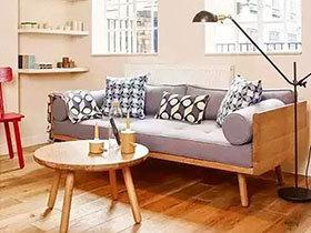 善用百搭灰元素 12个浅灰色客厅沙发