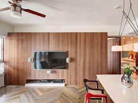 木质电视墙装修效果图大全 天然环保