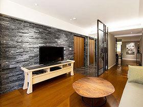 石材电视墙装修效果图大全 感受硬朗之美
