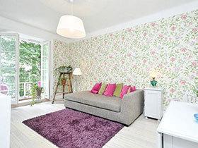 10个北欧客厅壁纸 自然创造派