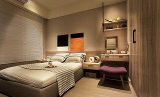 53平米现代简约卧室设计