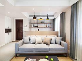 时尚简约新中式三居装修 柔和的色调全家都喜欢