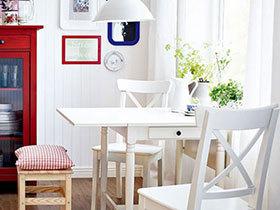 收放自如省空间 11个小户型折叠餐桌设计