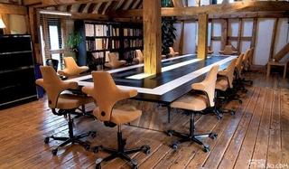 创意会议室装修效果图片