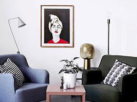 把画廊搬回家 11个客厅装饰画布置效果图