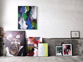 10个家居装饰画布置图 看墙上风景