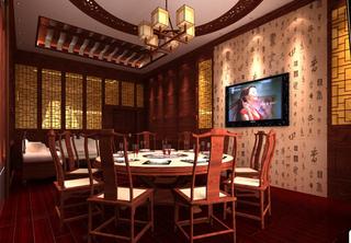 私人会所餐厅设计图