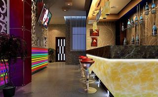 美容院收银台装饰设计室内图片
